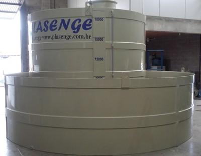 Tanque de armazenamento industrial