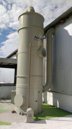 Lavadores de gases scrubbers