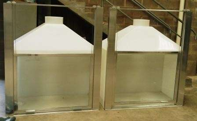Manutenção capela de exaustão de gases