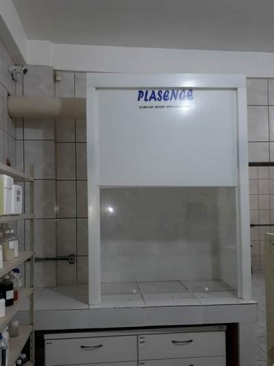 Sistema de exaustão para laboratório