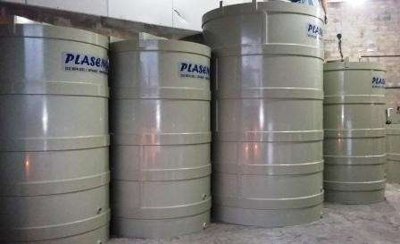 Tanque de estocagem de água