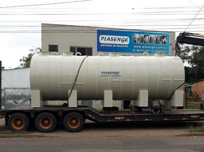 Tanque para transporte de produtos quimicos