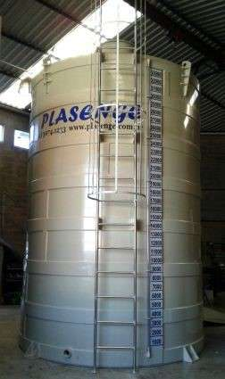 Tanques de processos químicos