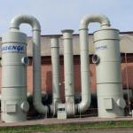 Lavador de gases para laboratório