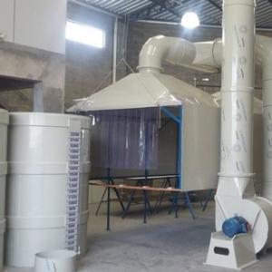 Sistema de exaustão para produtos químicos