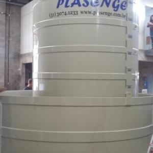 Tanques de água de polipropileno