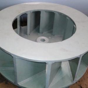 Rotor para exaustor centrifugo