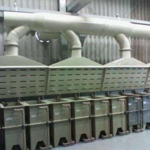 Sistema de exaustão de gases
