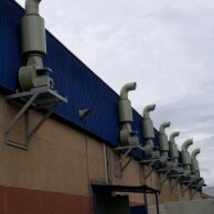 Sistema de exaustão industrial preço