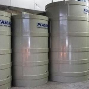 Tanque para armazenamento de produtos químicos